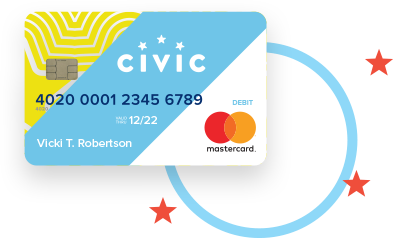 Civic FCU debit card