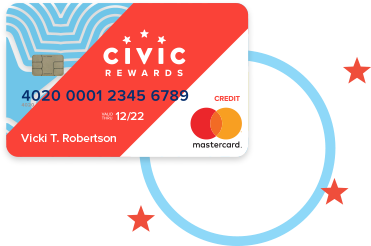 Civic Rewards credit card